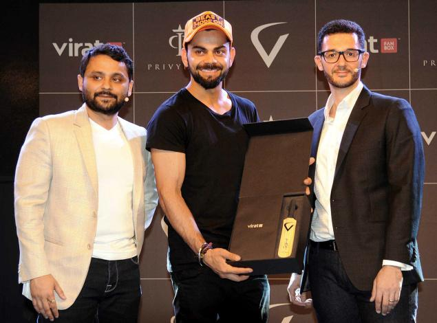 Get Closer to Virat Kohli using Virat FanBox App