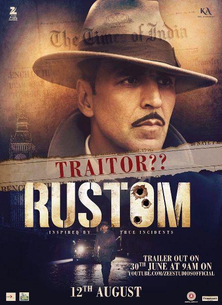 Akshay Kumar Unveils Rustom Trailer,Watch It Now