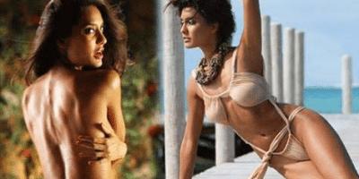 Lisa Haydon Bikini Wardrobe Malfunction