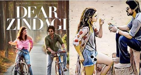Allia Bhatt and SRK Have Cute Message In Dear Zindagi Teaser!