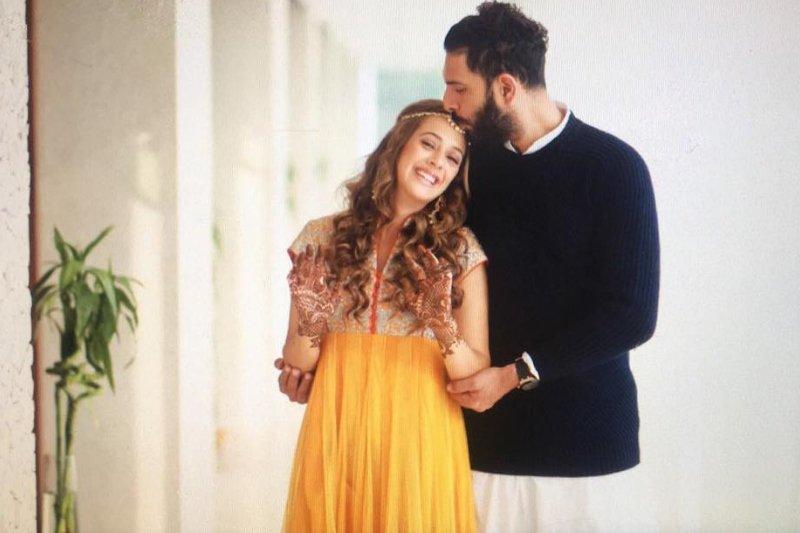yuvraj singh hazel keech wedding  but who is hazel keech