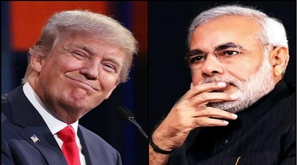 Modi Trump meet