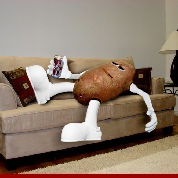 The Couch Potato theme party