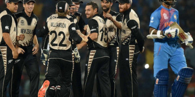 WT20 - Indian Batsmen failed miserably against NZ spin.