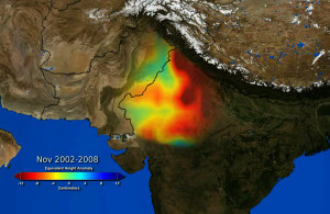 NASA Revealed The Secret Of Vanishing Water InNorthern India