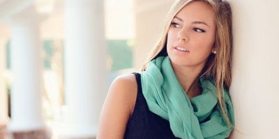 Trendy ways to wear a scarf