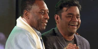 A R Rahman Googled Pele Before Composing a Song in His Biopic