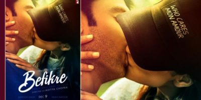 Befikre Second Poster Unveiled Showing Intimate Scene
