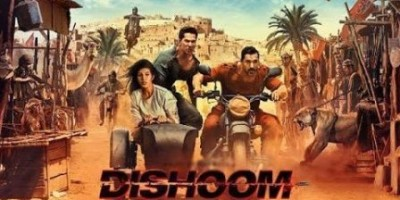 Dishoom Trailer: John Abraham Rocks Bike Stunt