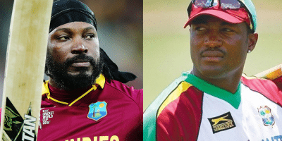 When Chris Gayle's Knock Scared Brian Lara !