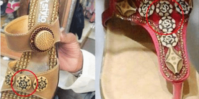 Hindus Protest Against Shoes with Religious Symbol in Pakistan