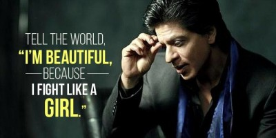 Shah Rukh Khan Writes A Wonderful Poem On Women Empowerment