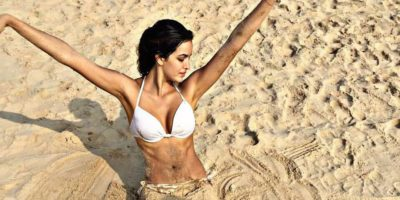 Bigg Boss Fame Natasa Stankovic Enjoying Hot Vacation in Goa