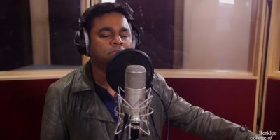 A.R. Rahman Jai Ho- Don't you get tired belting out great music?