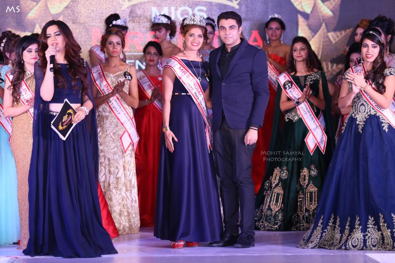 Exclusive Pics : MRS INDIA 2017 - Mahima Choudhary Graced the Event