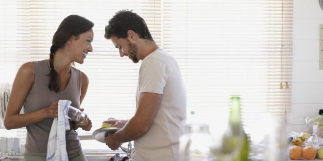 To do in a happy marriage : husbands giving their due in house chores
