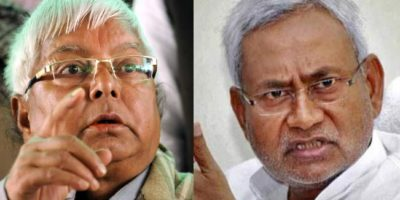 Lalu Nitish alliance